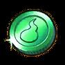 Grüne Münze