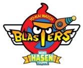 Yo-Kai Watch Blasters - Mondhasen-Truppe Logo