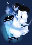 Regina-sandra-n-blue-lantern-yokai-erusane-version-1