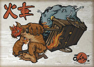 New challenger fiery youkai warlord kasha by dreamkillertora-d5rue51