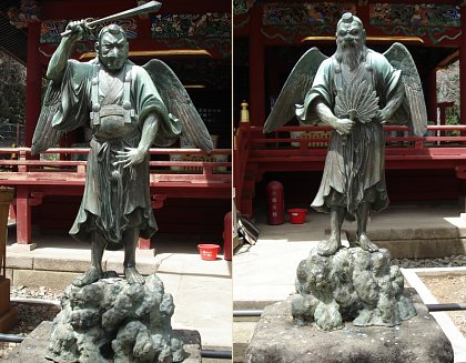 File:Karasu-and-yamabushi-tengu-standing-lisa-a-scheinin-yakuoin-temple-mt-takao-3-BTN.jpg