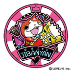 Jibanyan Dream Medal official artwork