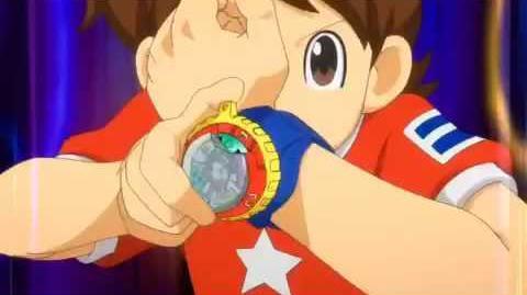 Youkai watch model zero summoning English HD