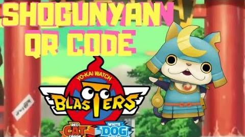 GET SHOGUNYAN QR CODES in Yokai Watch Blasters