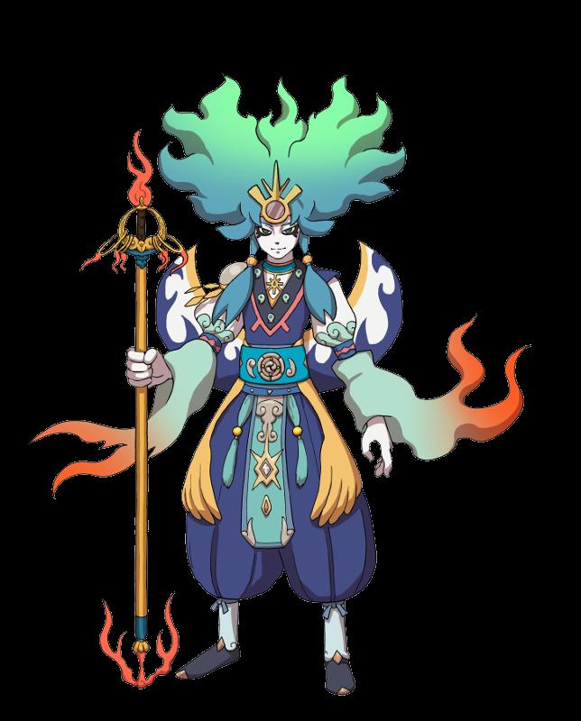 Kenshin Amaterasu Yo Kai Watch Wiki Fandom