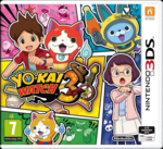 Yo-kai Watch 3 European cover