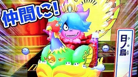 日ノ鳥ゲット!!【妖怪ウォッチウキウキペディアドリーム7弾】トレジャーモード Yo-kai Watch