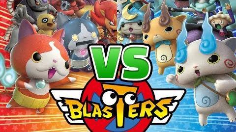 Yo-kai Watch Blasters — Red Cat Corps VS. White Dog Squad! ALL Version Differences Exclusive Yo-kai!