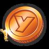 Orange Coin (2)