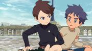 Itsuki and shin
