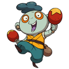 Squeeky official art