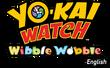 Yo-kai Watch Wibble Wobble English logo