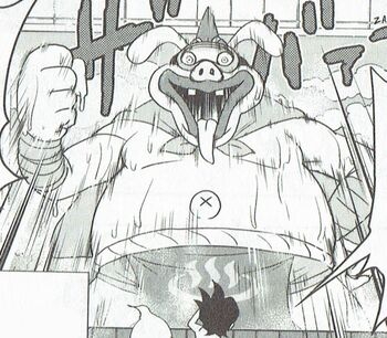 Manga Boss Form