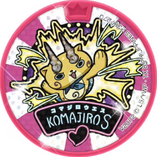 Komajiro S Dream Medal