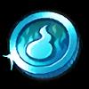 Super Light Blue Coin