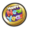 New Year Coin