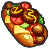 Premium Special Hot Dog