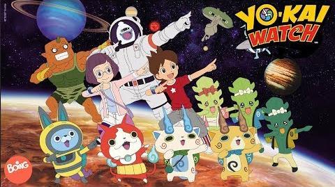 La danse des Yo-kai! Yo-kai watch saison 3 Boing
