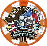 Robonyan USA Dream Medal