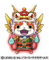 Jibanyan S Ryubi artwork