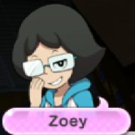Yokai Watch Zoey Portrait