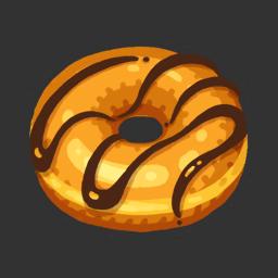 Bit o' Choc Donut