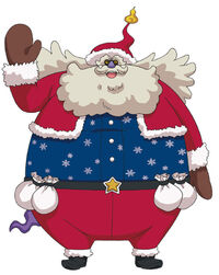 Giant Santa