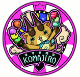 Komajiro Dream Medal