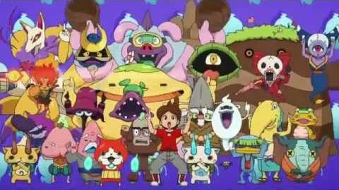 Yo-Kai Watch - Abertura Brasileira (Gera Gera Po Song brazilian version)