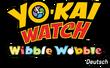 Yo-kai Watch Wibble Wobble Germany logo