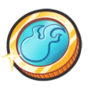 Light Blue Coin G