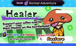 Blasters healer card