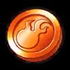 Special Orange Coin