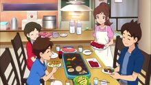 Amano Family Keisuke Natsume Keita Fumika Nate Katie