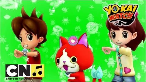 Baila la coreografía de Yo-Kai Watch Yo-Kai Watch Cartoon Network