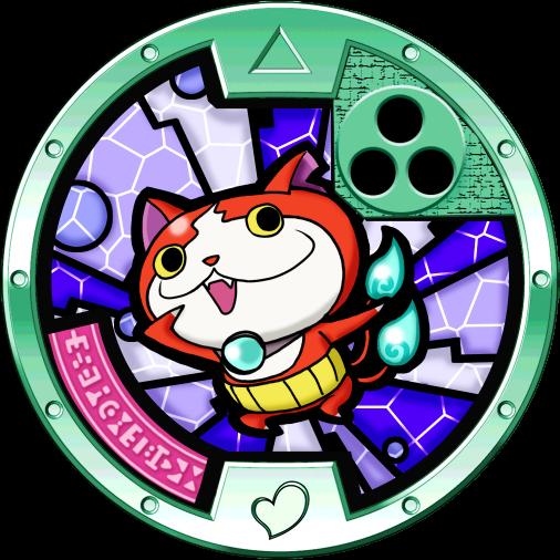 Bony-spirits-jibanyan-medal
