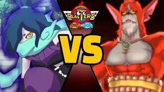 3 VENOCT vs RUBEUS J CHALLENGE in Yo-kai Watch Blasters (Theme Team)-0