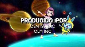 Yo-kai watch Ending 3 créditos Space Dance Español latino