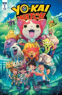 Yokai Watch Comic cover