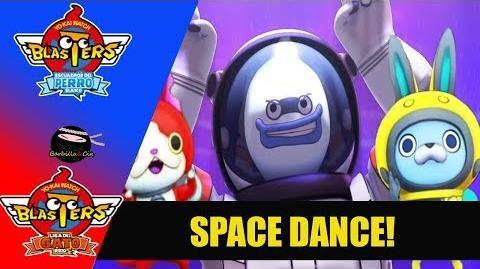 Créditos finales (ENDING) Yo-kai Watch Blasters SPACE DANCE! en ESPAÑOL