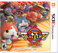 Yo-kai Watch Blasters (Red Cat Corps) NA Cover