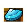 Light Blue Coin Fragment