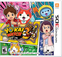 Yo-kai Watch 3 North American Cover