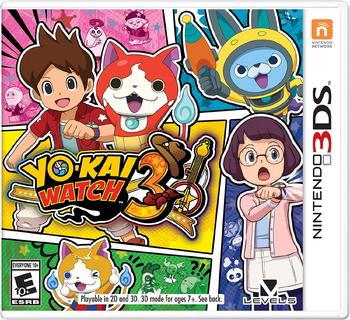 Yo-kai Watch 3 | Yo-kai Watch Wiki | FANDOM powered by Wikia