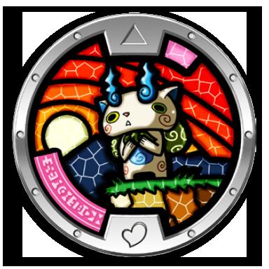Image komasan medal png yo kai watch wikia fandom for Porte medaillon yokai watch