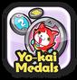 Medals menu