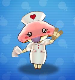 5018 Nurse Tongus art