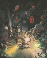 Yomawari Night Alone and The Firefly Diary Cover Art