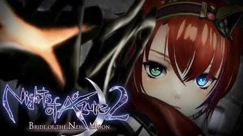 Nights of Azure 2 Bride of the New Moon - Announcement Trailer