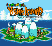 Title Screen - Super Mario World 2